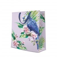 10 Geschenktaschen - Exotic Parrot