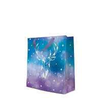 10 Geschenktaschen - Reflex Geometric Deer