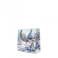 10 Geschenktaschen - Winter Village