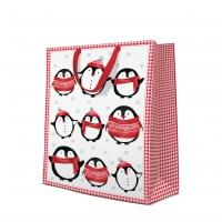10 Geschenktaschen - Little Penguins
