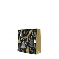 10 Geschenktaschen - Christmas Tree Stamps