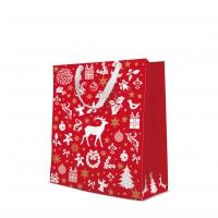 10 Geschenktaschen - Celebrate Christmas red