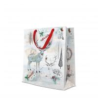 10 Geschenktaschen - Watercolor Christmas