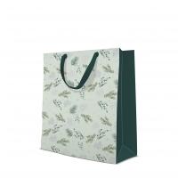 10 Geschenktaschen - Delicate Twigs mint