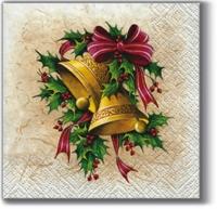 Cocktail Servietten Christmas Bells