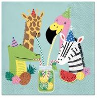 Servietten 33x33 cm - Summer Friends