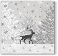 Servietten 33x33 cm - Frozen Scenery