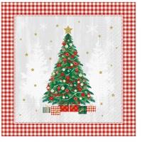 Servietten 33x33 cm - Special Tree