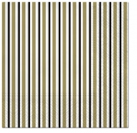 Servietten 33x33 cm - Lots of Stripes