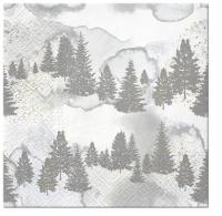 Servietten 33x33 cm - Frozen Ambient
