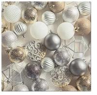Servietten 33x33 cm - Glamorous Christmas