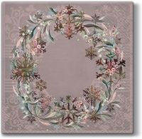 Lunch Servietten Pastel Wreath