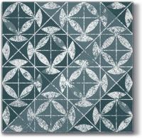 Servietten 33x33 cm - Mosaik Textur Silber