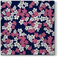 Servietten 33x33 cm - Floral Carpet violet