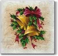 Lunch Servietten Christmas Bells