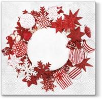 Lunch Servietten Nordic Wreath