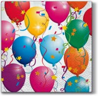Servietten 33x33 cm - Party Balloons