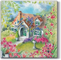 Servietten 33x33 cm - House in the country 