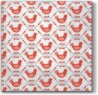 Servietten 33x33 cm - Geometric Hens
