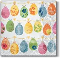 Lunch Servietten Chains with Eggs