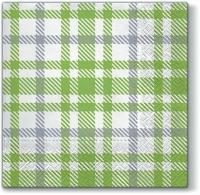 Servietten 33x33 cm - Picnic Style GREEN