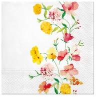 Servietten 33x33 cm - Delicate Flowers