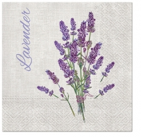Servietten 33x33 cm - Lavender for You