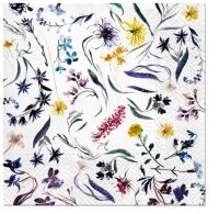 Servietten 33x33 cm - Flowers Memory