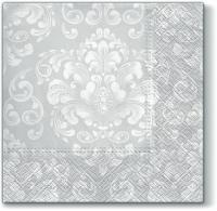 Servietten 33x33 cm -  Beautiful Moments white