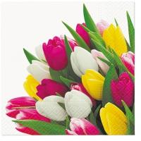 Servietten 33x33 cm - Bunch of Tulips