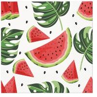 Servietten 33x33 cm - Tasty Watermelons