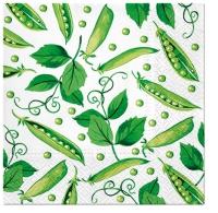 Servietten 33x33 cm - Fresh Green Pea