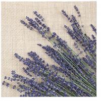 Servietten 33x33 cm - Lavender Sheaf