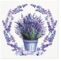 Servietten 33x33 cm - Soft Lavender