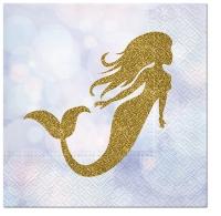 Servietten 33x33 cm - Magical Mermaid