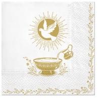 Servietten 33x33 cm - Baptism Blessing