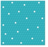 Servietten 33x33 cm - Inspiration Dots Spots turquoise-white