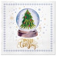 Servietten 33x33 cm - Magical Christmas Tree