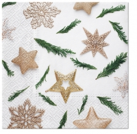 Servietten 33x33 cm - Star Decorations