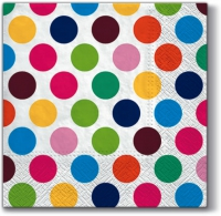 Servietten 33x33 cm - So Large Dots