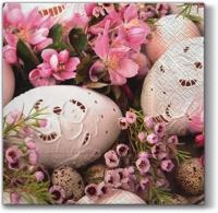 Lunch Servietten Pink Easter
