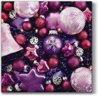Servietten 33x33 cm - Violet Chic