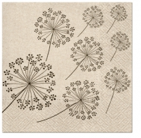 Servietten 33x33 cm - We Care Dandelions