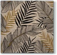 Servietten 33x33 cm - Wir pflegen exotische Blätter