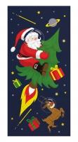 Taschentücher - Rocket Santa