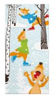 Taschentücher - Skating Foxes