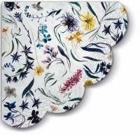 Servietten - Rund - Blumen Speicher