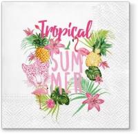 Lunch Servietten Tropical Summer
