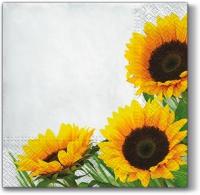 Lunch Servietten Autumn Sunflower