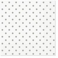 Servietten 33x33 cm - Basic Dots